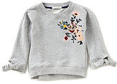Copper Key Little Girls 4-6X Floral-Embroidered Top