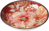 Certified International Watercolor Poppies Serving Bowl