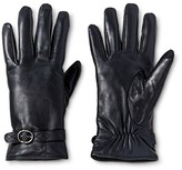 Women's Genuine Leather Tech Touch Glove - Merona