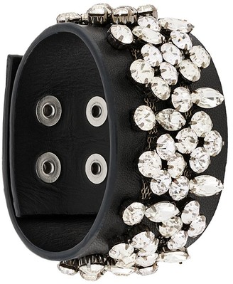 Christopher Kane Double Crystal Cuff