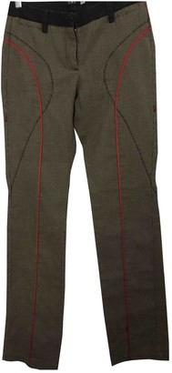 CNC Costume National Cotton Trousers for Women