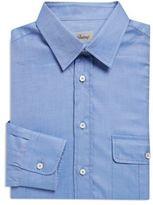 Brioni Stitch Detail Cotton Sportshirt