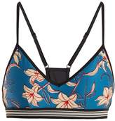 The Upside Andie Floral Fairy Tale-print performance bra