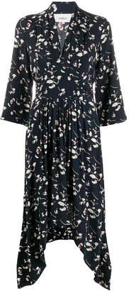 BA&SH floral print flared dress