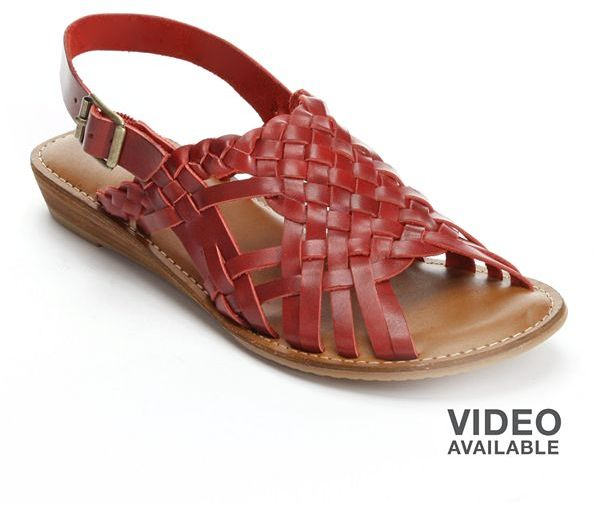 Eddie Bauer lunette huarache slingback sandals - women