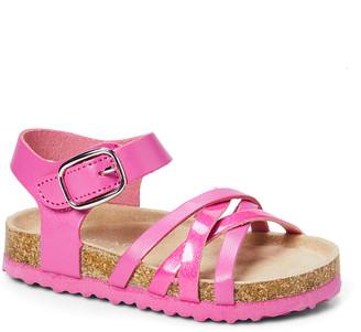 Rampage Girls' Sandals FUCHSIA - Fuchsia Strappy Crisscross Sandal - Girls