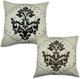 Bed Bath & Beyond Bib Hand Embroidered Square Throw Pillow