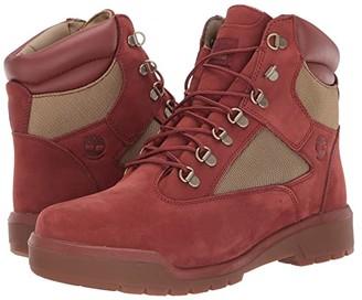 Timberland Field Boot 6 F/L Waterproof (Rust Nubuck) Men's Lace-up Boots
