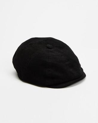 Brixton Black Caps - Joe Strummer Brood Snap Cap - Size S at The Iconic