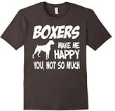 Men's Boxers Make Me Happy You Not So Much T shirt Large