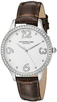 Stuhrling Original Women's 560.01 Symphony Analog Display Quartz Brown Watch