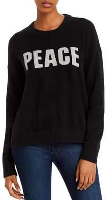 Minnie Rose Peace Cashmere Sweater