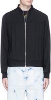 McQ by Alexander McQueen Pleated virgin wool twill blouson jacket