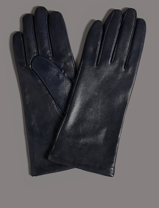 Marks and Spencer Cashmere Lined Leather Gloves