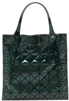 Bao Bao Issey Miyake Platinum Small Metallic Pvc Tote Bag - Womens - Dark Green