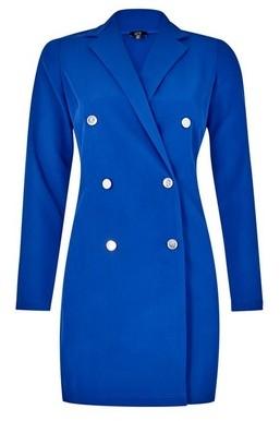 Dorothy Perkins Womens **Lola Skye Cobalt Tuxedo Dress