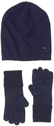 Tommy Hilfiger Women's New Odine Beanie Giftpack Hat and Glove Set,(Manufacturer Size: OS)