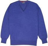 Thumbnail for your product : Romeo Merino - Merino Wool V-Neck Sweater Prussian Blue