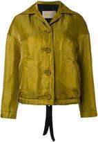 Christian Wijnants 'Josie' jacket - women - Linen/Flax/Polyamide/Polyester/Acetate - 36