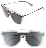Valentino Garavani Women's Valentino 48Mm Retro Sunglasses - Grey/ Silver