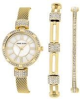 Anne Klein Women's Watch & Bangle Set, 28Mm