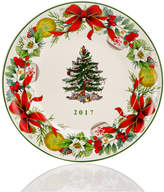 Spode Christmas Tree 2017 Annual Collector Plate