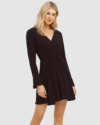 Cooper St Santa Fe Long Sleeve Mini Dress
