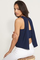 Dynamite Tank Top with Banded Back Detail
