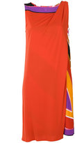 Emilio Pucci draped shoulder dress