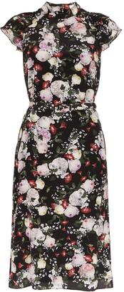 Erdem Olivera floral print dress