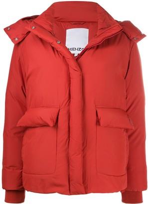 Kenzo Hooded Puffer Jacket