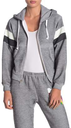 Wildfox Couture Regan Zip Hooded Sweatshirt