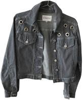 Claudie Pierlot Blue Denim - Jeans Leather jackets