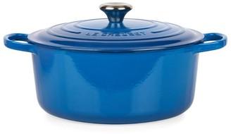 Le Creuset Marseille Blue Round Casserole Dish (28cm)