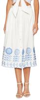 Temperley London Gilda Cotton Midi Skirt