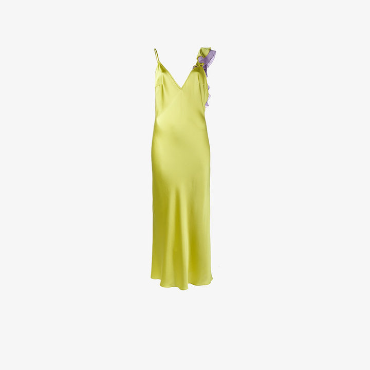 Natasha Zinko ruffle trim dress