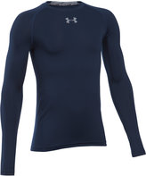 Under Armour Boys' Long-Sleeve Graphic-Print T-Shirt