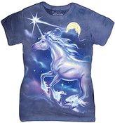 The Mountain Unicorn Star Women's T-Shirt Tee