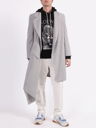 Duo Grey Wrap Around Coat