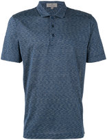 Canali striped polo shirt - men - Silk - 50