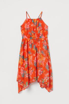 H&M Chiffon Dress - Orange