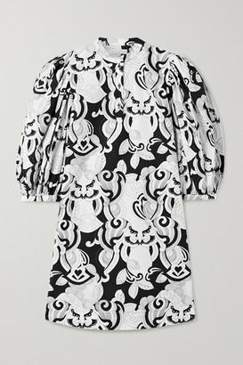 See by Chloe Printed Cotton-poplin Mini Dress - White