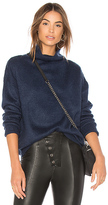 MinkPink Florentine Funnel Jumper in Blue. - size L (also in M,S,XS)