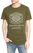 Obey Men's Retinal Delivery Crewneck T-Shirt