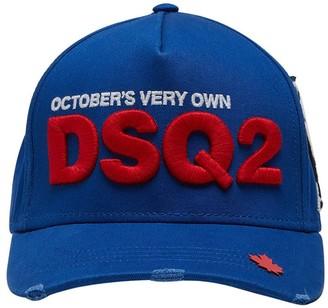 DSQUARED2 Ovo Capsule Canvas Baseball Hat