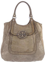 Tory Burch Metallic Amanda Hobo