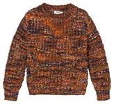 Acne Studios Orange Mix Mini Zora Sweater