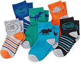 Okie Dokie Dinosaur Low-Cut Socks - Boys 2-6