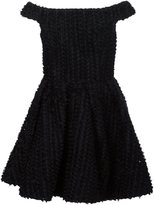 Christian Siriano off-the-shoulder tulle dress - women - Silk - 4