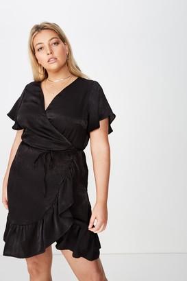 Cotton On Curve Wrap Dress